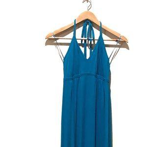 Express Maxi Halter Dress
